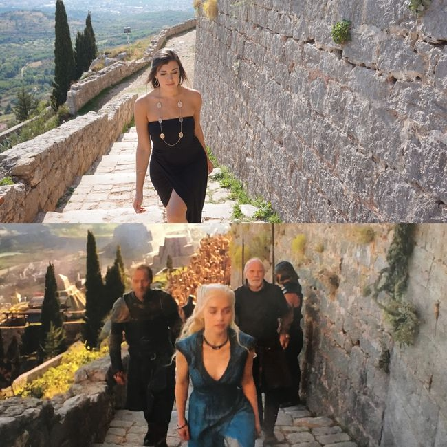 Game of Thrones, Croatia, Split, Dubrovnik, Fortress of Klis, Marleah DiMenna, Emilia Clarke, Dany