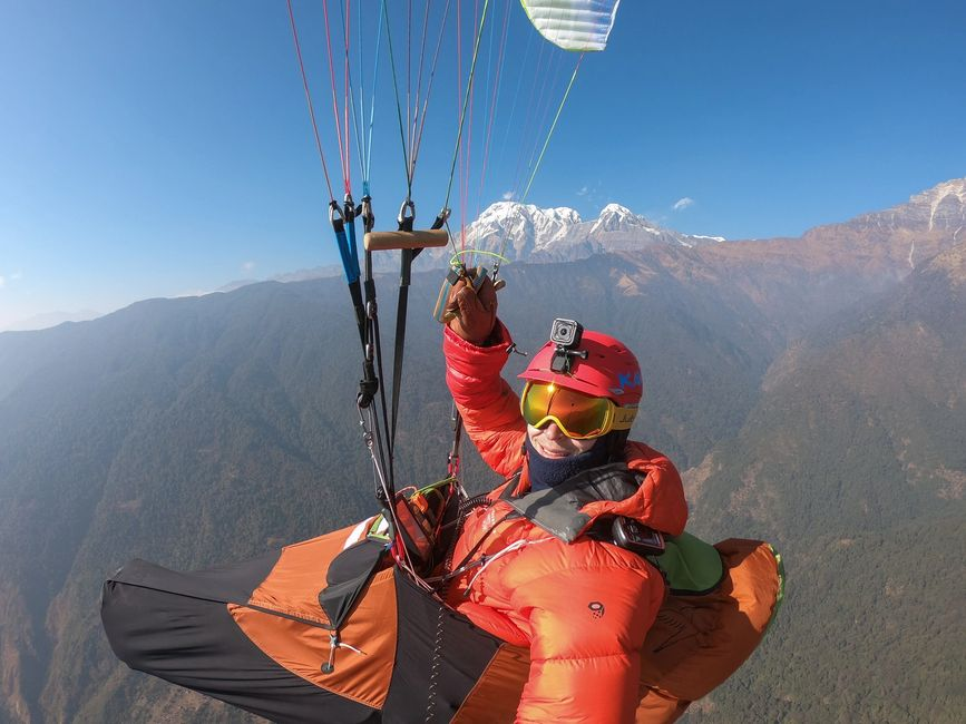 Paragliding, Nepal, Max Wilderness, Seagull Ariel