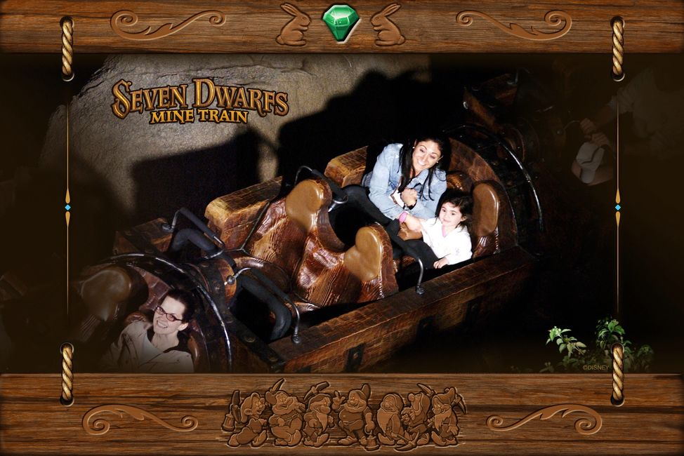 Seven Dwarfs Mine Train, Disney World, Magic Kingdom, The Travelers Blueprint, Brianna Driscoll
