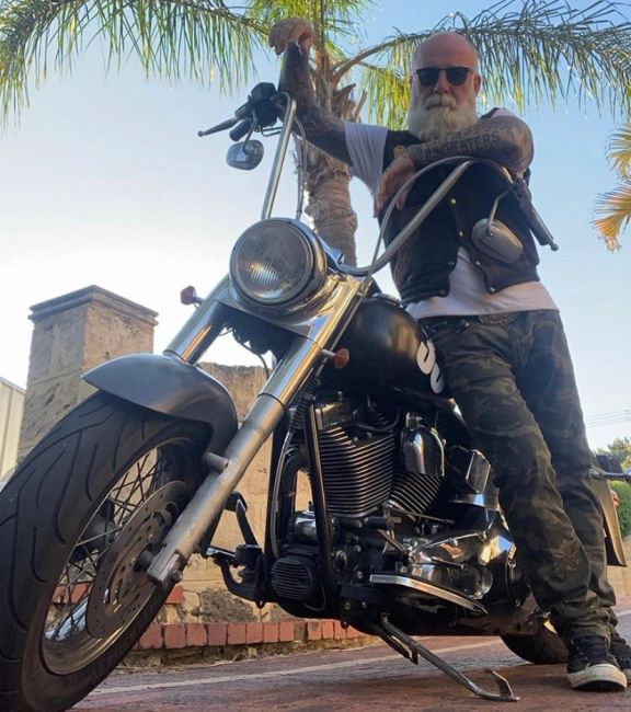 Paulo Martino Artful Ink The Travelers Blueprint Podcast Motorcycle Travel Europe Middle East Asia