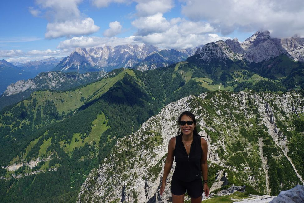 Christine, The Travelers Blueprint, Italy, Dolomites, Hiking, Cheese, Venice