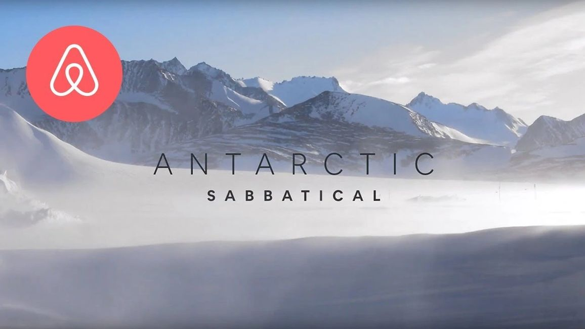 AirBNB, Antarctica Sabbatical, The Travelers Blueprint, Travel, World, Awesome, News, Podcast