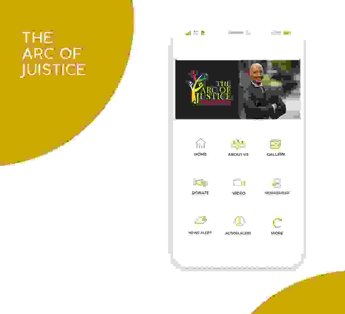 The arc Of justice app is coming, In  the palm of your hands find out where and we will be out fight