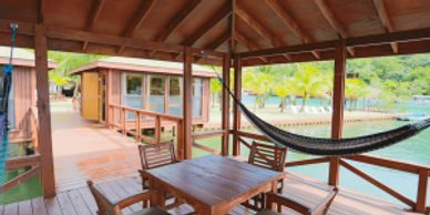 Key Deluxe bungalows are our most spacious bungalows, and you'll find them dispersed along the perim
