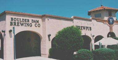 Practically a museum in itself, Boulder Dam Brewing Co. is just a few miles from Hoover Dam and Lake