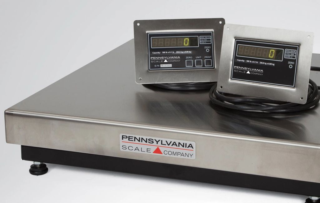 Airline baggage scales, platform scales, digital weight/count indicators, and more.