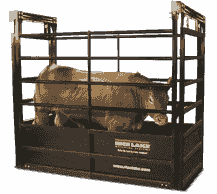The SLV offers the features of a RoughDeck® floor scale modified to meet the demands of livestock weighing.