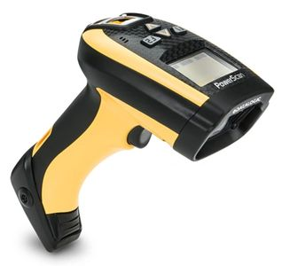 Datalogic PowerScan RF PM9100 laser scanner is for multiple scanner communications to a base station