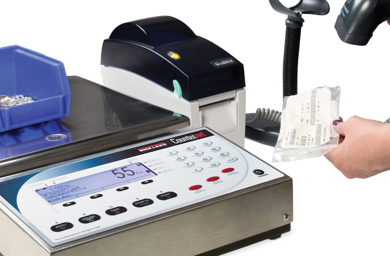 Counting scales are an essential tool for counting high volumes of identical parts.