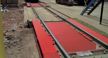 SURVIVOR railroad track scales have a  weighbridge design that's rugged, accurate, & heavy-duty.
