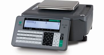 The DIGI DC-400 is a sleek, dual-load cell counting scale that functions like a dual-platform unit.