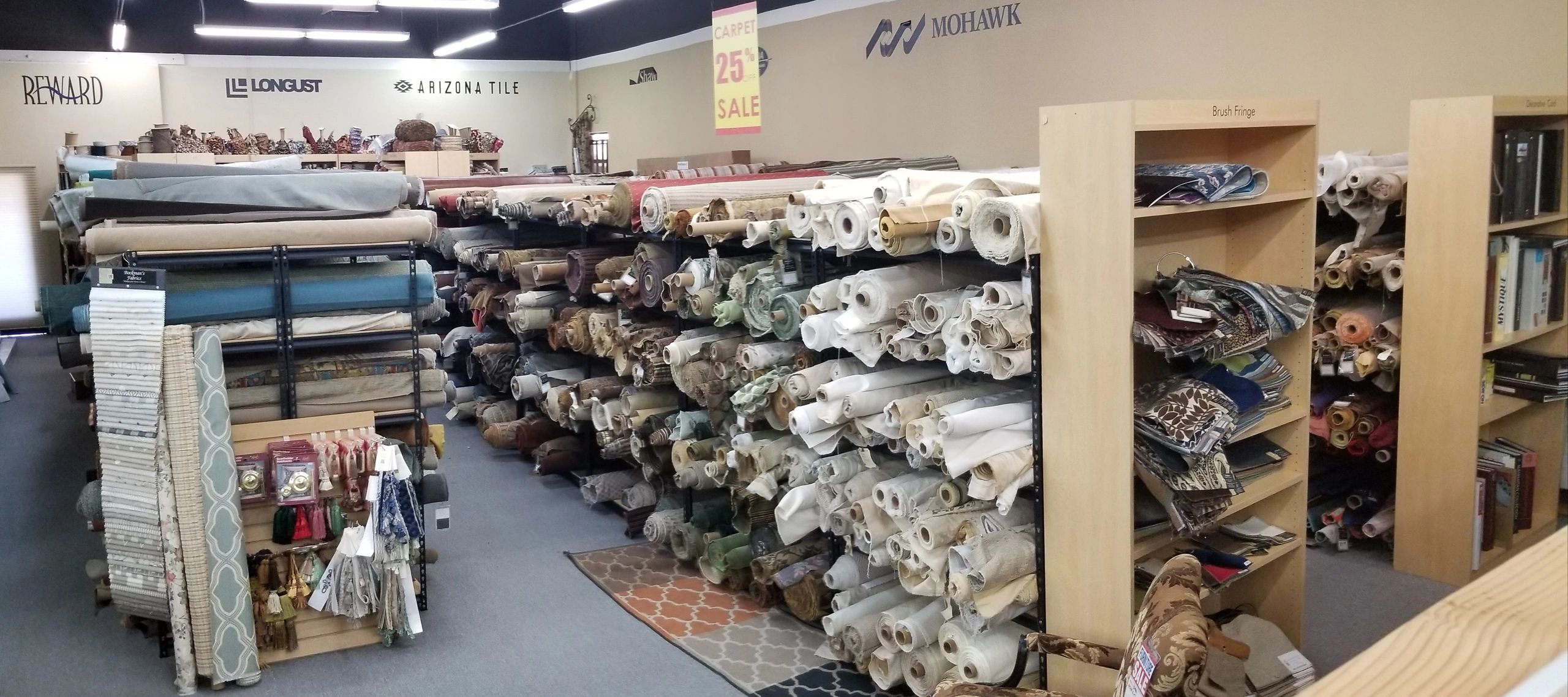 "{""blocks"":[{""key"":""6ld8q"",""text"":"" We also carry thousands of fabrics in stock! Searching for that one special fabric? We have it! "",""type"":""unstyled"",""depth"":0,""inlineStyleRanges"":[{""offset"":1,""length"":95,""style"":""BOLD""}],""entityRanges"":[],""data"":{}}],""entityMap"":{}}"