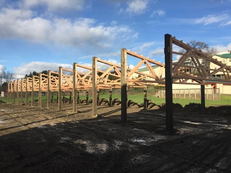 Building the Barn - February 2019