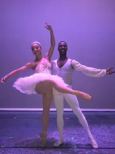 Stephanie Williams & Dustin James Courtesy of Dance Theatre of Harlem
