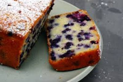 Blueberry Ginger Loaf