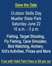 Outdoor Skills Day is an annual Mueller State Park Event. It is being held on June 22, 2019.
