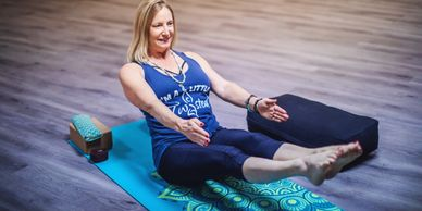 Core Work Out Yoga Core Strength Twisted to the Core Pilates Posture Back Pain Relief A little twist