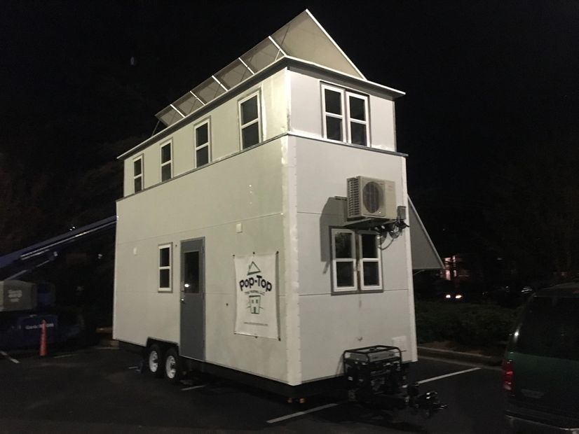 Vertically Expanding Tiny Home Porototype
