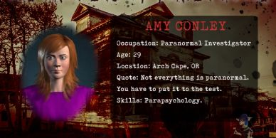 Amy Conley paranormal investigator of the Flavel House in Astoria, OR