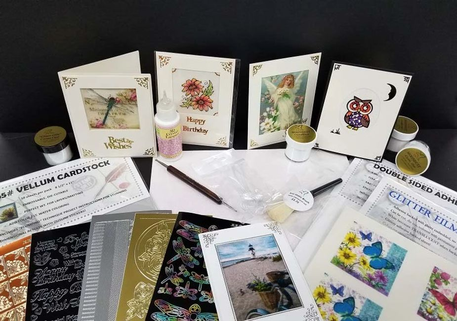 Pigeon Forge, Tennessee rubber stamp and scrapbook expo class