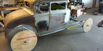 1932 Ford Chassis For Model A Body
