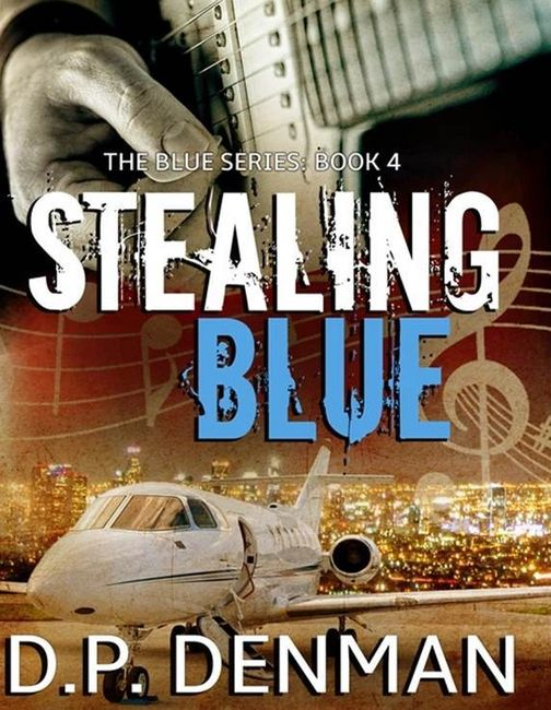 Stealing Blue, bestselling romance author DP Denman.