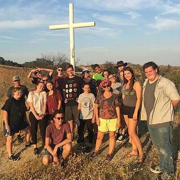Walk the hill to the cross