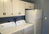 Washer/dryer and refrigerator