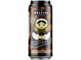 An image of a can of Dosvidanya® Russian Imperial Stout.