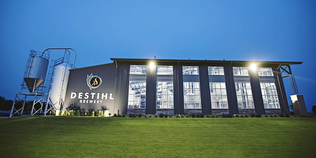 Exterior image of DESTIHL Brewery in Normal, Illinois