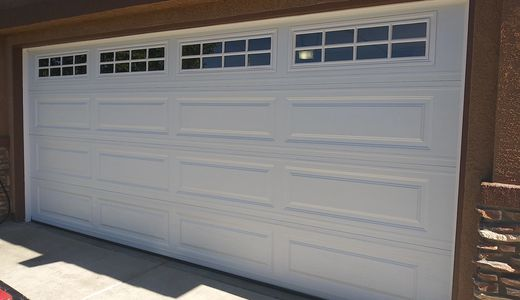 Unique garage door by Garage doors 4 Less - 818-314-5545