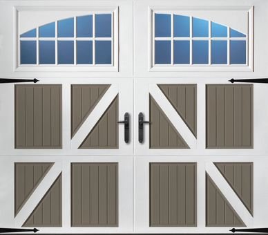 Amarr Classica Steel doos are luxary barn style garage doors with beautiful lifetime steel designed