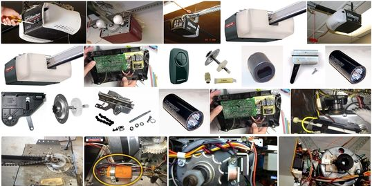 garage door opener repair by garage doors 4 less. 818-314-5545.