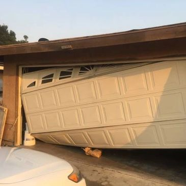 garage door off track repairs by garage doors 4 less. 818-314-5545 - garage door service - garage do