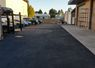 Repaired Potholes, Seal Coated and then Striped Fanucci Auto Body's Parking Lot in Santa Cruz