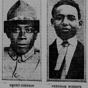 Henry Johnson and Needham Roberts the two main characters in this historical film.