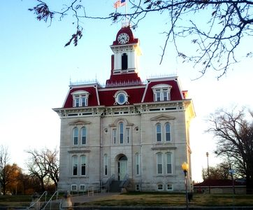 Chase County Court House Cottonwood Falls, Ks. Home of Opera Workshop in the Flint Hills