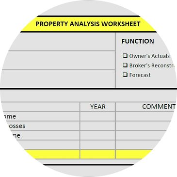Property Analysis Worksheet