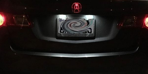 Amp'd Emblem kit for Acura rear