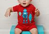 Three Musketeers Robot Romper