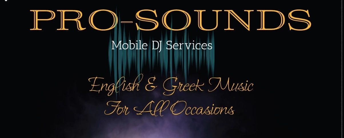 Mobile DJ , Music f or all occasions. Greek music DJ  English music dj