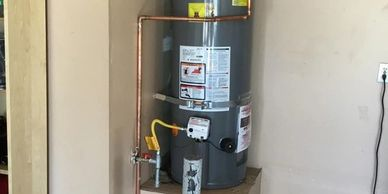 Residential Water Heater Install