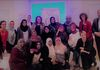 2-8-17 - IRI-Libya - Group Picture, Campaign Workshop, heart-shaped rose colored glasses, We Love Libya