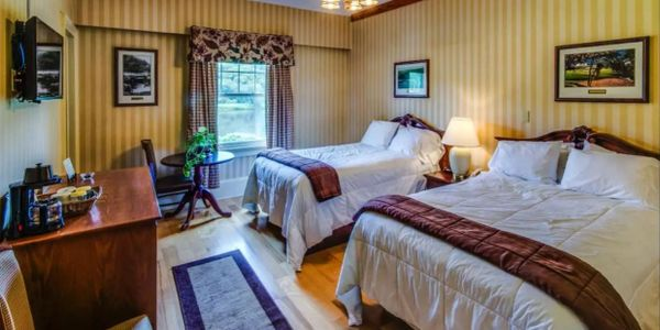 80 rooms available at the Shawnee Inn