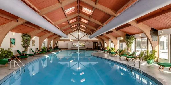 Many amenities including a large indoor pool