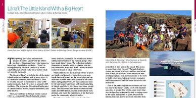 Lāna'i: The Little Island With a Big Heart by Kepā Maly.