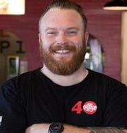 Chef + Managing Partner Trevor Kotchek Sgt. Pepperoni's Pizza Store