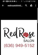 Thanks to Red Rose Salon for being a gold sponsor.