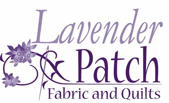 Lavender Patch Fabric & Quilts