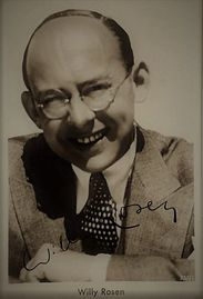 Publicity Photgraph of Willy Rosen